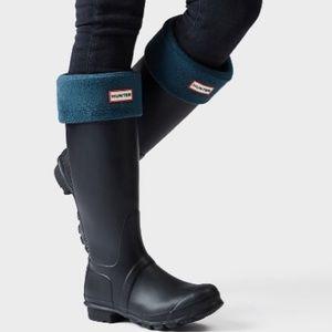 HUNTER BOOT SOCKS BLUE ORIGINAL M
